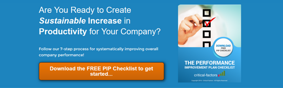 THE PIP Checklist Offer s